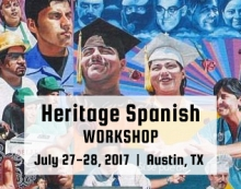 Heritage Spanish Workshop 2017