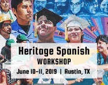 Heritage spanish workshop 2019