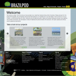 Brazilpod website screenshot