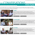 Les Conversations MJ website screenshot