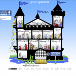 Grimm Grammar website screenshot