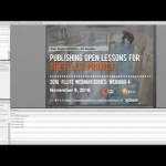 FLLITE Webinar 4: Publishing Open Lessons for the FLLITE Project