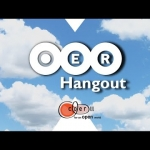 COERLL OER Hangout March 2020: Talk to teachers who have adopted and adapted OER