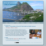 Ta falado website screenshot